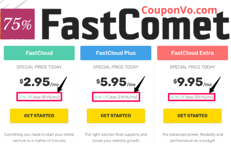 Fastcomet Promo Code, Fastcomet coupon Codes, Fastcomet coupon