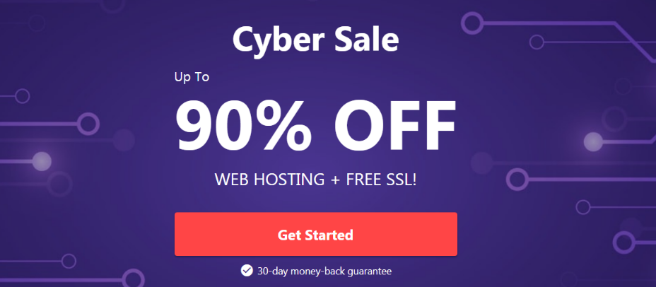 Hostinger cyber sale