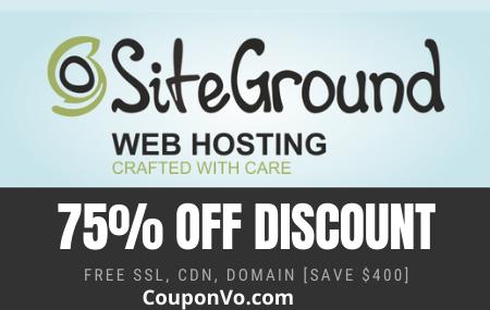 Siteground Coupon, Siteground discount Coupon, Siteground promo code