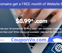 Godaddy 99 cents domain, 99 cent domain, Godaddy 99 cent domain