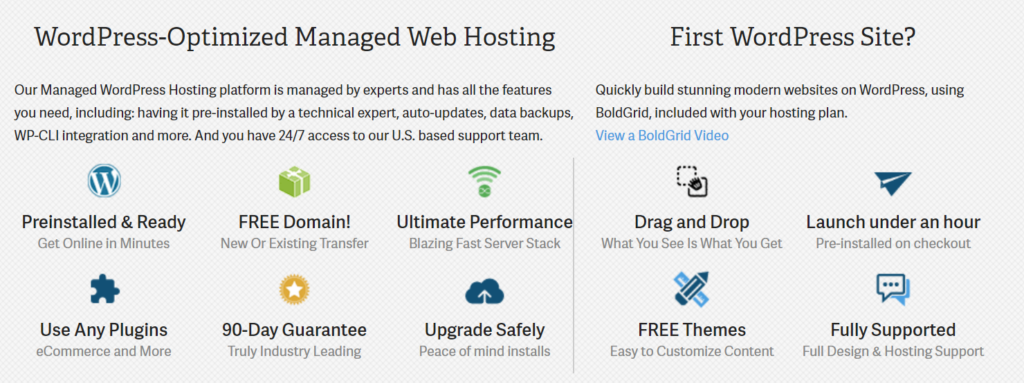 Inmotion WordPress shared hosting