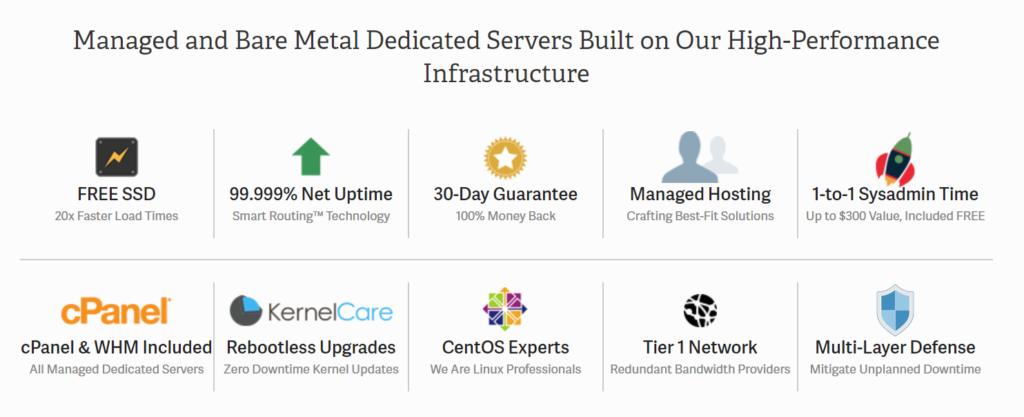Inmotion dedicated server