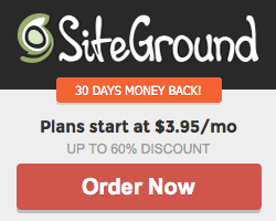 Siteground special discount