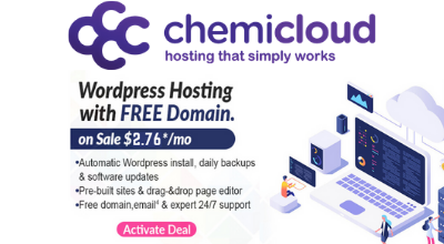 ChemiCloud Coupon Code