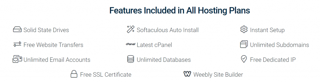 Hostwinds Features