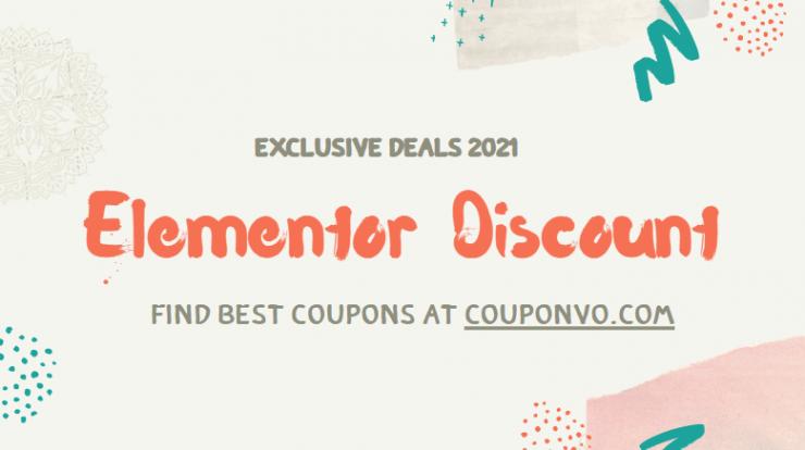 elementor pro discount
